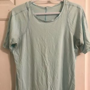 Lululemon mint green tshirt